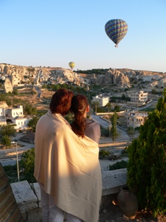 My Mom and Me in Cappadocia
